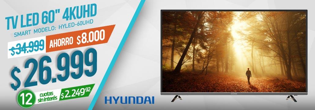 TV LED HYUNDAI 60