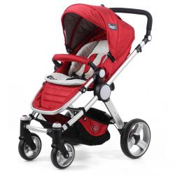 COCHE TRAVEL SYSTEM GLEE! A18TS ROJO