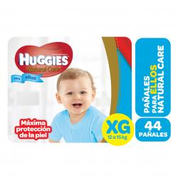 PAÑALES HUGGIES NATURAL CARE MICKEY XG X 44 UN.