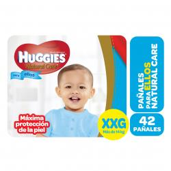 PAÑALES HUGGIES NATURAL CARE MICKEY XXG X 42 UN.